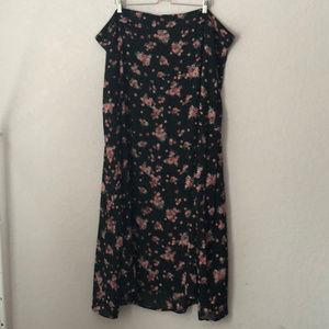 Torrid Floral Maxi Skirt
